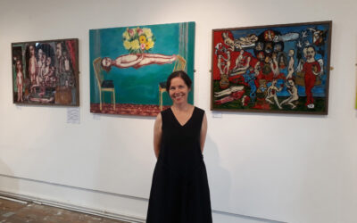 Meet the Artist Event at Bridport Arts Centre